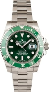 Rolex Green Submariner 116610V