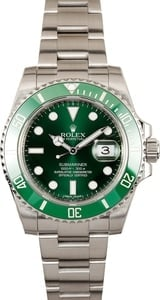 "Rolex ""Hulk"" Submariner 116610V Green Dial"
