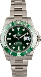 Submariner Rolex 116610V Green
