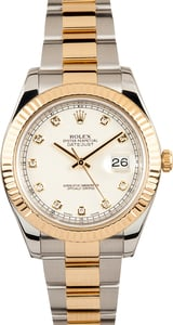 Rolex Datejust 116333 Ivory Diamond Dial