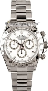 Rolex Daytona 116520 White Face