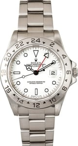Used Men's Rolex Explorer II Men's Stainless Steel Watch 16570 4