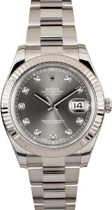 Mens Rolex Diamond Datejust 116334