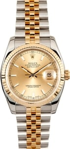 Rolex Datejust Solid Links 116233