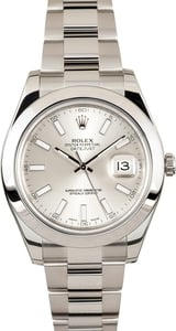 Mens Rolex Datejust 41MM 116300 - Factory Stickers