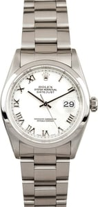 Men's Rolex DateJust Stainless Steel WRO