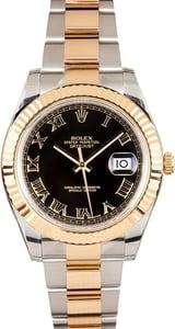 Rolex DateJust II 41mm w/ black dial 116333