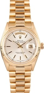 Rolex Men's Used Rolex President Gold Day-Date Model 18038