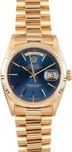 Used Rolex Men's President Gold Day-Date Jubilee