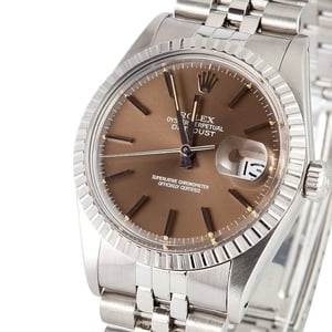 Mens Rolex Datejust 16030 Bronze Dial