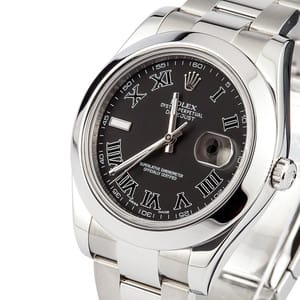 Rolex Datejust 116300 Black Roman