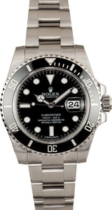 Used Rolex Submariner 116610LN Stainless Steel Oyster
