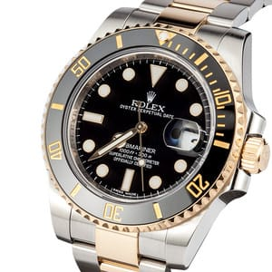 Rolex Submariner 116613 Steel & Gold
