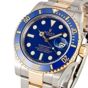 Submariner Ceramic 116613 Two Tone