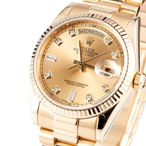Rolex Day Date Presidential Diamond Dial