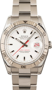 Pre Owned Rolex Thunderbird Datejust 116264 White Dial