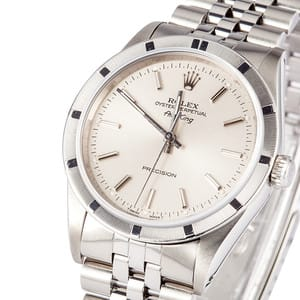 Pre Owned Rolex Air-King Stainless Steel Watch 14010M
