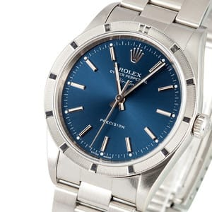Rolex Air-King Stainless Steel Blue Dial 14010