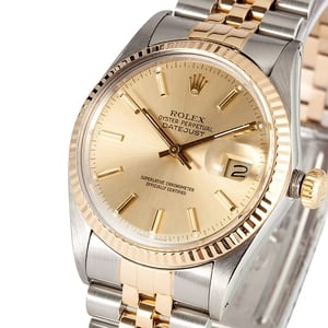 Rolex Datejust Stainless Steel and Gold 16013