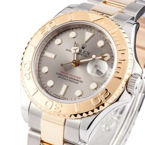 Rolex Men's Yachtmaster Stainless Steel and Gold 16623