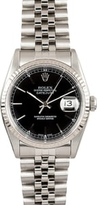 Datejust Rolex Steel 16234