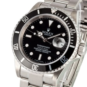 Rolex Submariner 16610 No holes case x
