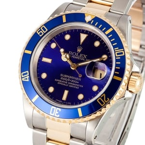 Two Tone Submariner 16613