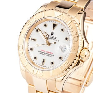 Rolex Yachtmaster Yellow Gold 16628