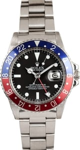 Vintage Rolex GMT 1675 with Pepsi Bezel