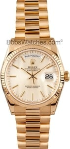 Used Rolex 18k Gold Day-Date 118238