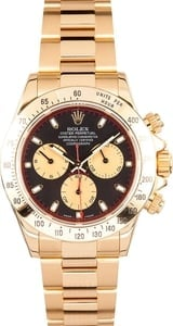 Rolex Daytona 18K Yellow Gold 116528BKCSO