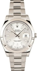 Rolex Datejust II 116334 Silver Dial