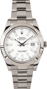 Datejust II Rolex 116334 White
