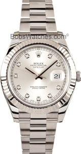 Rolex DateJust II 116334 Diamond Dial 41MMN