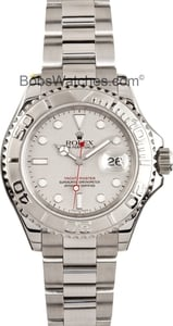 Men's Rolex Yachtmaster Stainless Steel and Platinum 16622