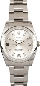 Steel Rolex Air-King 114200