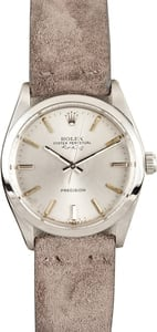 Rolex Men's Air-King Stainless Steel 5500