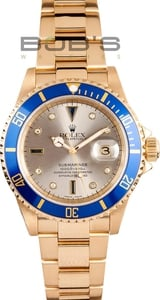 Rolex Submariner 16618 Watch
