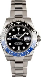 "Rolex GMT-Master II Blue Black ""Batman"" 116710B"