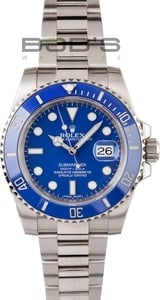 Rolex Men's Submariner White Gold 116619
