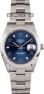 Men's Rolex Date Stainless Steel 15200WRO