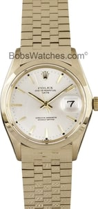 Rolex Dress Watch Date 1500
