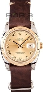 Rolex DateJust Stainless and Gold 116233