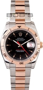 Pre Owned Men's Rolex DateJust Thunderbird Watch 116261 at Bob's Watches