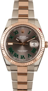 Pre-Owned Rolex Datejust 126331 Slate Roman Dial