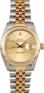 Mens Rolex Datejust 16013 x