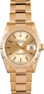 Men's Rolex DateJust 18K 16238