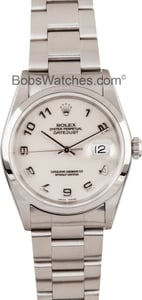 Rolex Steel Datejust 16200