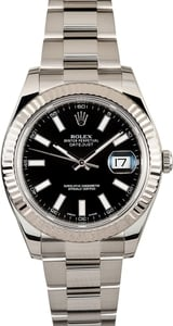 Rolex 41MM Datejust 116334