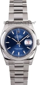 Pre-Owned Men's Rolex Datejust Watch 116200